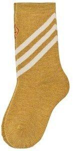 The Animals Observatory Yellow Skunk Kids Socks