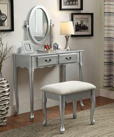 Furniture Of America Cm7851v 3 Pc Deana Blue And White