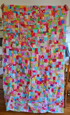 layered scraps