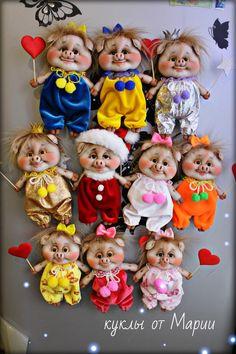Clay Crafts, Diy And Crafts, Skeleton Dance, Sewing Dolls, Doll Patterns, Sewing Hacks, Mini, Teddy Bear, Soft Dolls