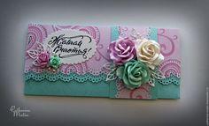 Купить Конверт для денег «Желаем счастья» - Конверт для денег, подарочный, конверт, для денежного подарка