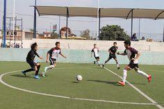 El equipo de futbol rápido Águilas americanas venció 8 a 1 a su similar de la Universidad La salle dentro del torneo de Adecopa.