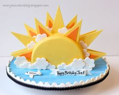 Jessicakes -- OMG, this girl is a frickin' genius!!  L.O.V.E. this sunshine cake.
