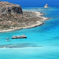 Balos .... Visit the stunning beach of #balos, on #crete island! By @patkahlo. Congratulations