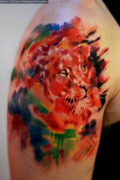 Abstract Lion nr 2