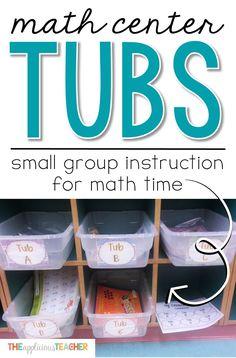 Math Center Tubs- sm