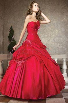 Mitte Rücken Ballkleid Herz-Ausschnitt Schnürrücken ärmelloses klassisches & zeitloses Quinceanera Kleid