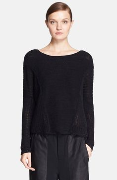 Helmut Lang Loose Knit Sweater available at #Nordstrom