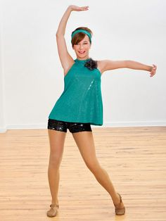 Ref: Mini-reflections spandex swing top has halter neckline, keyhole back, and removable flower trim. Top has built in shelf bra for added support. Dance Recital Costumes, Cute Dance Costumes, Tap Costumes, Theatre Costumes, Dance Dreams, Dance It Out, Dance Like No One Is Watching, Sequin Shorts, Dance Wear