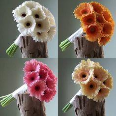 Bridal Gerbera Bouquets