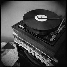 Un tourne-disque