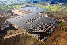 Солнечная ферма. Испания. Фото: Маркел Редондо