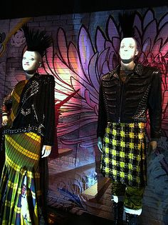jean paul gaultier punk collection