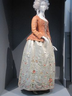 Caraco jacket,  c. 1760 (altered 1780) from the LACMA