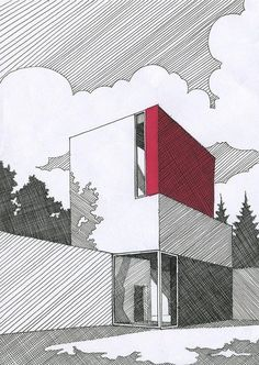 52 Ideas Exterior Architecture Rendering Building For 2019 architects companies architecture design architecture architecture arch design Architecture Drawing Plan, Architecture Drawing Sketchbooks, Architecture Drawing Art, Conceptual Architecture, Architecture Graphics, Architecture Old, Architect Drawing, Colour Architecture, Minimalist Architecture