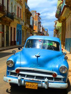 Havana Cuba...visited in 2009 and desparate to return there soon