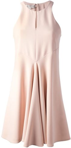 Stella MCCARTNEY Pleated A-Line Dress - Lyst