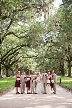 Boone Hall Plantation Wedding    Live oaks, spanish moss, oak alley wedding, southern wedding    copyright m three studio photography