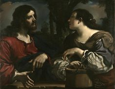 """This recently rediscovered work dates from Guercino's early, rarest, and most desirable period, when he was acclaimed for the emotional power of his compositions, with lifelike figures intensified by a rich palette and strong effects of light. 