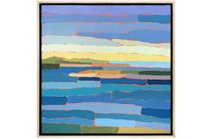 Across Menemsha Pond by Paul Norwood Love this abtract painting