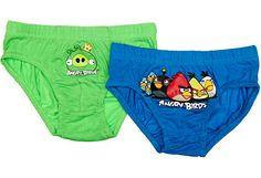 Angry Birds poikien alushousut, 2 kpl - Prisma verkkokauppa, 5,55 €. Koko 120 cm.