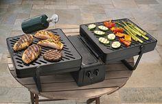 Kamperende keukenchef - portable grill, point elevate - wonen voor mannen