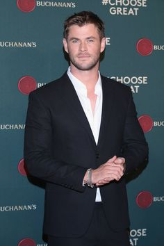 Chris Hemsworth in Mexico City for Buchanan's.