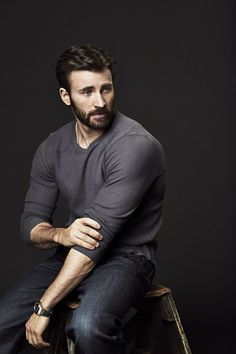 Chris Evans by Danielle Levitt | Variety