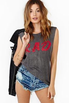 Rad Muscle Tee by This is Genevieve