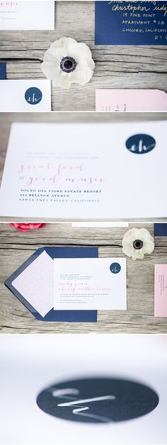 this paper is so gorgeous via StyleUnveiled.com / Sogno del Fiore Wedding Inspiration / Anna J Photography / Gorgeous Winery Wedding Inspiration