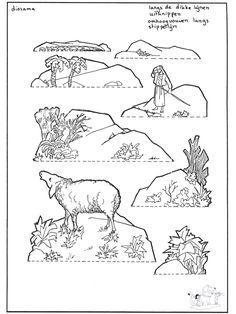 Bijbelwerkje voor kleuters: het-verloren-schaap