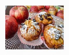 Muffin alle mele e uvetta senza glutine | la cucina di miky
