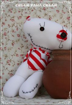 Muñecas y muñecos en tela Buenos Aires- Argentina http://www.facebook.com/creerparacreargr