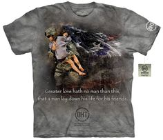 OHT Hero T-Shirt | Heroic Soldier Adult