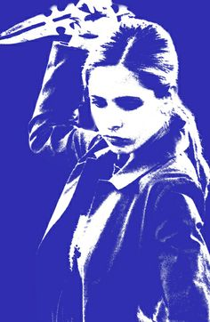 """""""Buffy the Vampire Slayer Art Print"""" Still one of the coolest (and wittiest) vampire hunters of all time."""