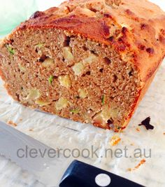 Apple  Zucchini Bread – GF, DF, SF, #thermomix