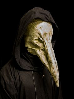 The Reaper (white) plague doctor mask