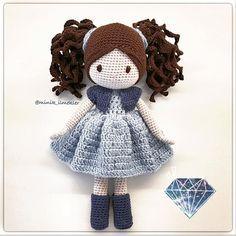 1,359 отметок «Нравится», 18 комментариев — Minik İlmekler (@minik_ilmekler) в Instagram: «Perşembe#amigurumi #amigurumidoll #amigurumilove #amigurumiaddict #crochet #crochetlove…»