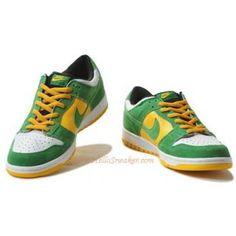 7c60cf3caa25 304292 132 Nike Dunks Low Pro SB Buck White Classic Green Del Sol K03009