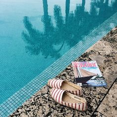We can't wait for a weekend spent lounging by the water with our Soludos! Get yours and join us! #regram @lusttforlife #soludos #soludossummer #travel