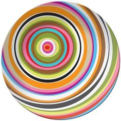French Bull Ring Round Platter