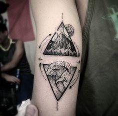 New Nature Tattoo Ideas Ocean Ideas Stomach Tattoos, Top Tattoos, Trendy Tattoos, Forearm Tattoos, Body Art Tattoos, Small Tattoos, Sleeve Tattoos, Tattoos For Guys, Tattoo Tribal
