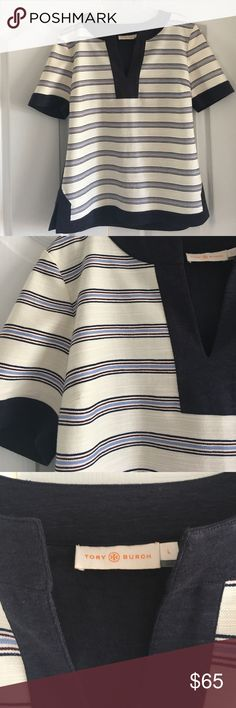 Tory Burch Tunic Tory Burch Tunic. Style 11142163. Size large. Excellent condition. Tory Burch Tops Tunics