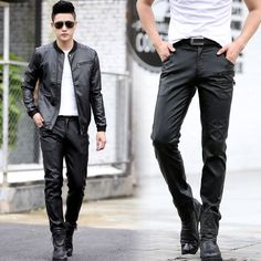 Men's Sheep Leather Pants