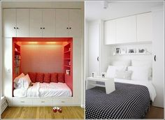 Overhead Closet is a Great Idea as well
