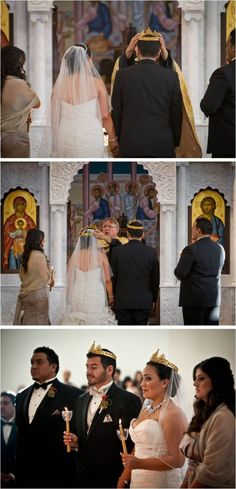 Greek Orthodox Wedding  http://intertwinedevents.com/blog/
