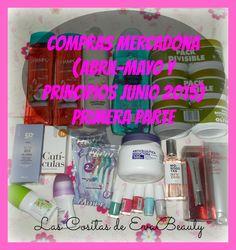 Primera Parte de mis compras de Abril, Mayo y principios de Junio de 2015. #mercadona #deliplus #lascositasdeevabeauty #esmaltes #haul #compras #manicura #manicure #belleza #beauty #blogger #beautyblogger #beautyblog #blog