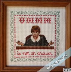 Judgment Day  PATTERN by steotch on Etsy