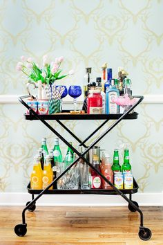 The perfect bar cart