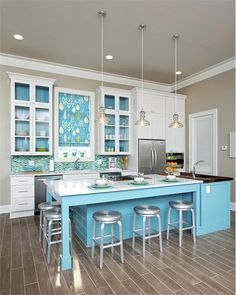 Contemporary (Modern, Retro) Kitchen by Cheryl Kees Clendenon